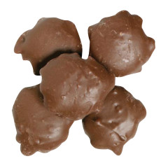 NASSAU CANDY MILK CHOCOLATE CASHEW TURTLES
