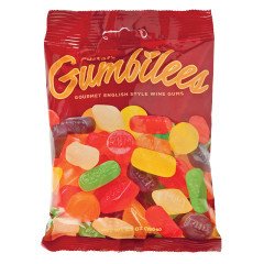 GUSTAF'S GUMBILEES WINE GUMS 5.2 OZ PEG BAG