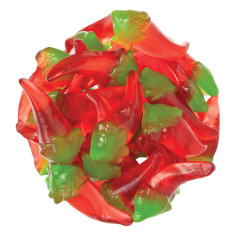 CLEVER CANDY GUMMY RED HOT CHILI PEPPERS