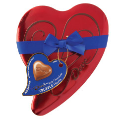DOVE MILK CHOCOLATES 3.04 OZ HEART TIN