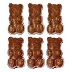 NASSAU CANDY MILK CHOCOLATE GIANT GUMMY GRIZZLY BEARS