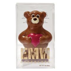 EMVI MILK CHOCOLATE LOVE BEAR 3 OZ BOX