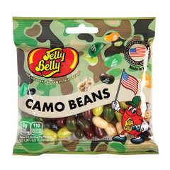 JELLY BELLY CAMO BEANS JELLY BEANS 3.5 OZ BAG