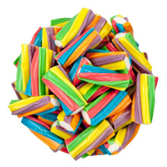 CLEVER CANDY RAINBOW TWISTERS FILLED LICORICE