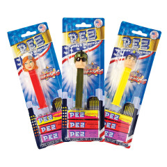 PEZ HEROES ASSORTMENT BLISTER PACK 0.87 OZ