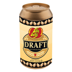 JELLY BELLY DRAFT BEER JELLY BEANS 1.75 OZ CAN SHAPED TIN