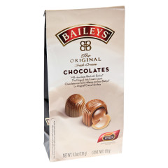 BAILEY'S LIQUOR FILLED MILK CHOCOLATES 4.23 OZ BAG