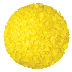 DRYDEN AND PALMER YELLOW LEMON ROCK CANDY CRYSTALS