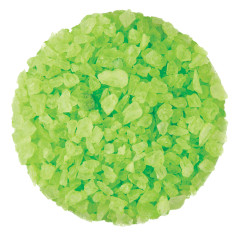 DRYDEN AND PALMER LIGHT GREEN WATERMELON ROCK CANDY CRYSTALS