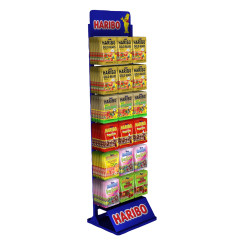HARIBO PEG BAG DISPLAY RACK