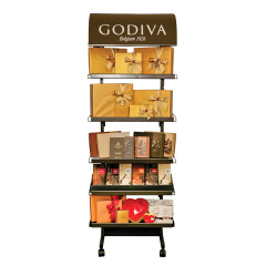 GODIVA SMALL KIOSK DISPLAY