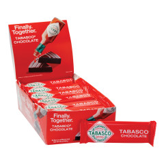 TABASCO SPICY DARK CHOCOLATE 1 OZ BAR