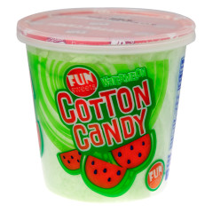 FUN SWEETS WATERMELON COTTON CANDY 1.5 OZ TUB