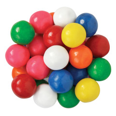 ASSORTED COLORS AND FLAVORS 850 CT GUMBALLS