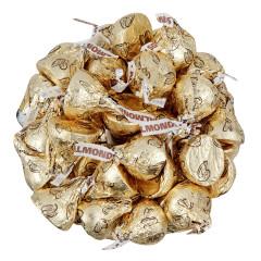 HERSHEY'S KISSES MILK CHOCOLATE ALMOND 8.5 OZ