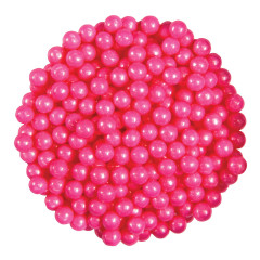 CELEBRATION SHIMMER BRIGHT PINK SUGAR PEARLS