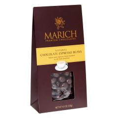 MARICH CHOCOLATE ESPRESSO BEANS 4.25 OZ GABLE BOX