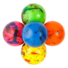 CLEVER CANDY ASSORTED JAWBREAKERS WITH CANDY CENTER 1.75 INCHES