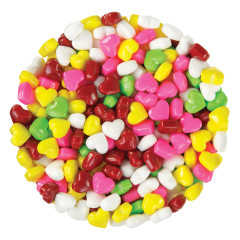 CLEVER CANDY DEXTROSE RAINBOW HEARTS
