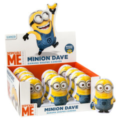 MINIONS DAVE WITH BANANA CANDIES 1.5 OZ TIN