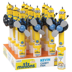 MINIONS KEVIN CANDY FAN 0.53 OZ