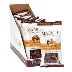 MARICH MILK CHOCOLATE SEA SALT CARAMEL POPCORN 1.76 OZ
