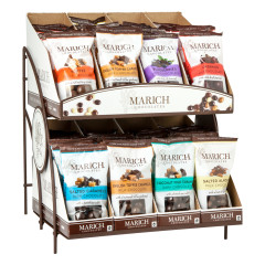 MARICH GABLE BOX / SINGLES COUNTER DISPLAY RACK