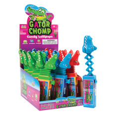 GATOR CHOMP FILLED WITH GUMBALLS 0.35 OZ