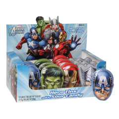 AVENGERS SOUR CANDY 0.88 OZ TIN