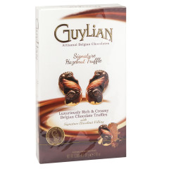 GUYLIAN HAZELNUT TRUFFLES 8 PC 2.96 OZ BOX