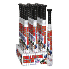 BIG LEAGUE CHEW BASEBALL BAT WITH GUMBALLS