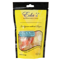 EDA'S SUGARFREE TROPICAL MIX 3.5 OZ POUCH