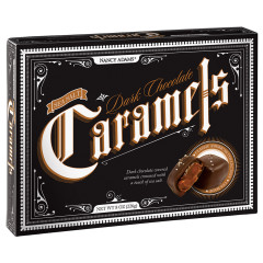 NANCY ADAMS DARK CHOCOLATE SEA SALT CARAMELS 8 OZ BOX