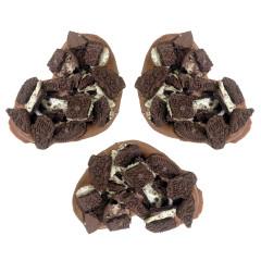 GIAMBRI'S COOKIES AND CREAM MILK CHOCOLATE COVERED PRETZEL