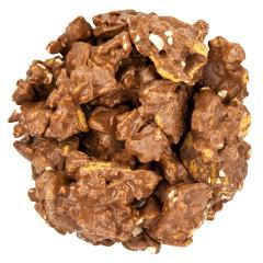 OMG'S MILK CHOCOLATE PEANUT GRAHAM CLUSTERS