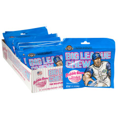 BIG LEAGUE CHEW COTTON CANDY BUBBLEGUM 2.12 OZ POUCH