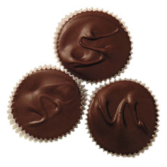 ASHER'S JUMBO MILK CHOCOLATE PEANUT BUTTER CUPS