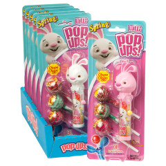 POP UPS EASTER BUNNY LOLLIPOP 1.26 OZ BLISTER PACK