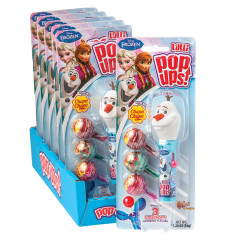 POP UPS FROZEN OLAF LOLLIPOP 1.26 OZ BLISTER PACK
