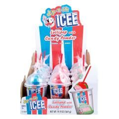 ICEE DIP N LIK LOLLIPOP WITH CANDY POWDER 1.66 OZ