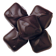 ASHER'S SUGAR FREE DARK CHOCOLATE VANILLA CARAMELS