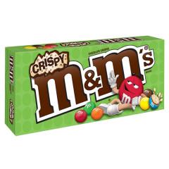 M&M'S CRISPY 3 OZ THEATER BOX