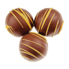 BIRNN MILK CHOCOLATE HAZELNUT DESSERT TRUFFLES