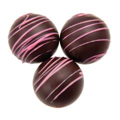 BIRNN DARK CHOCOLATE RASPBERRY DESSERT TRUFFLES