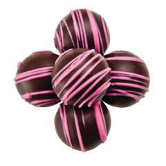 BIRNN BITE SIZE DARK CHOCOLATE RASPBERRY TRUFFLES