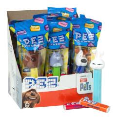PEZ SECRET LIFE OF PETS ASSORTMENT 0.58 OZ