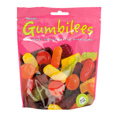 GUSTAF'S GUMBILEES WINE GUMS 7 OZ POUCH