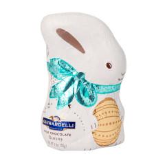 GHIRARDELLI MILK CHOCOLATE HOLLOW FOILED 3.5 OZ BUNNY