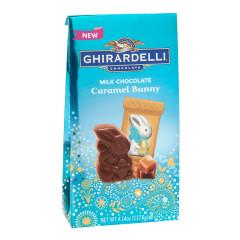 GHIRARDELLI MILK CHOCOLATE CARAMEL BUNNY 4.14 OZ BAG