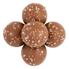 BIRNN BITE SIZE MILK CHOCOLATE SEA SALT CARAMEL TRUFFLES